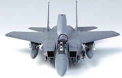 Военен изтребител - Strike Eagle - Сглобяем авиомодел - макет
