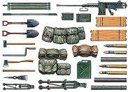Боеприпаси за танково въоръжение - Комплект сглобяеми оръжия - макет