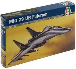 """Военен самолет - МиГ-29 УБ """"Fulcrum"""" - Сглобяем авиомодел -"""