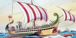 Римски военен кораб - Circa - макет