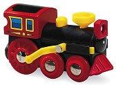 Детски парен локомотив - Old steam engine - Дървена играчка -
