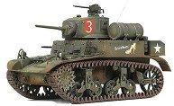 Танк - U.S. M3A1 Stuart Light Tank - макет