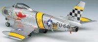 Военен самолет - F-86F Sabre - Сглобяем авиомодел -