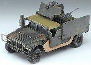 Военен камион със стойка за оръжия - M998 I.E.D. Gun truck - Сглобяем модел - макет
