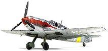 Военен самолет - Messerschmitt Bf 109 T-2  - Сглобяем авиомодел -