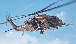 Военен хеликоптер - MH-60G Pave Hawk - Сглобяем авиомодел - макет