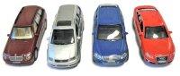 Метални автомобили - Комплект от четири колички -