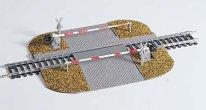 Железопътен прелез с бариера - Сглобяем модел - релса