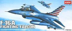 Военен самолет - Fighting Falcon F-16A - Сглобяем авиомодел - макет