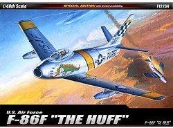 Военен самолет - F-86F Sabre Mig Killer - Сглобяем авиомодел -