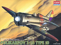 Военен самолет - Polikarpov I-16 Type 10 - Сглобяем авиомодел -