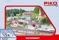 Село - 5 в 1 - Комплект сглобяеми модели - продукт