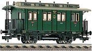 Пътнически вагон BCi Pr 86 - Втора и трета класа - ЖП модел - макет