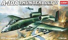 Военен самолет - А-10А Thunderbolt II - Сглобяем авиомодел - макет