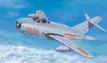 Военен изтребител - Миг-17 PF Fresco - Сглобяем авиомодел -