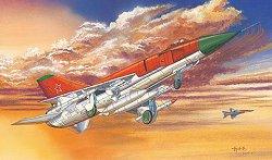 Военен самолет - Su-15 Flagon-A - Сглобяем авиомодел -