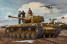 Танк - German Pz.Kpfm KV-1 756(r) - Сглобяем модел -
