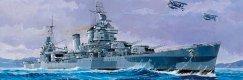 Военен кораб - USS San Francisco CA-38 - Сглобяем модел -