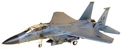 Военен изтребител - F-15E Strike Eagle - Сглобяем авиомодел - макет