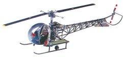 Военен хеликоптер - MSH H-13 Sioux - макет