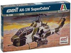 Военен хеликоптер - AH-1W Super Cobra - Сглобяем авиомодел - макет