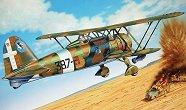 Военен самолет - C.R. 42 AS - Сглобяем авиомодел -