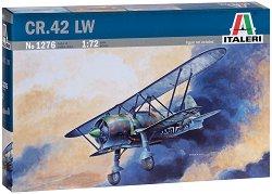 Военен самолет - CR. 42 Luftwaffe - Сглобяем авиомодел - макет
