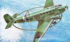 Военен самолет - JU-52 Minesweeper - Сглобяем авиомодел -