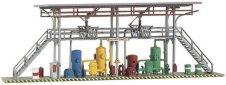 Станция за зареждане на цистерни с гориво - Shell - Сглобяем модел -