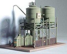 Силози за зърно - Billinger - Сглобяем модел -