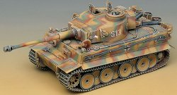 Немски танк - German Tiger I - Сглобяем модел -