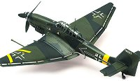 Бомбардировач - Junkers Ju 87G-2 Stuka - Сглобяем авиомодел -