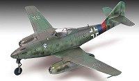 Военен самолет - Messerschmitt Me 262 A-1a - Сглобяем авиомодел - макет