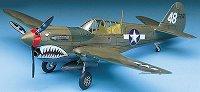 Военен самолет - P-40M/N Warhawk - Сглобяем авиомодел - макет