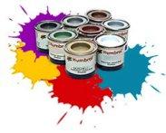 Акрилна боя - гланцова - Боичка за оцветяване на модели и макети - макет
