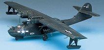 Военен самолет - PBY-5A Catalina Black Cat - Сглобяем авиомодел - макет