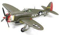 Изтребител - P-47D Thunderbolt Razorback - Сглобяем авиомодел -