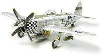 Изтребител -  P-47D Thunderbolt Bubbletop - Сглобяем авиомодел -