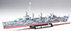 Военен кораб - DD445 Fletcher - Сглобяем модел -