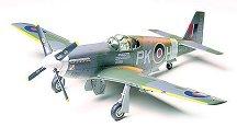 Военен самолет - RAF Mustang III - Сглобяем авиомодел - макет