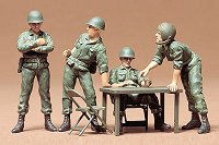 Американски командири - Комплект сглобяеми фигури -