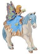 """Малка синя фея с пони - Фигура от серията """"Герои от приказки и легенди"""" - аксесоар"""