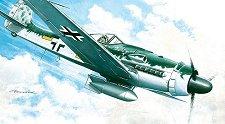 Военен самолет - Focke Wulf 190 D-9 - Сглобяем авиомодел -