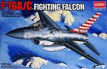 Военен самолет - F-16A/C Fighting Falcon - Сглобяем авиомодел - макет