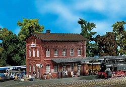 ЖП гара - Waldbrunn station - Сглобяем модел -