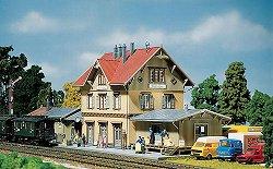ЖП гара - Güglingen station - Сглобяеми модели -