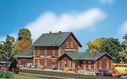 ЖП гара - Gera-Liebschwitz station - Сглобяем модел -