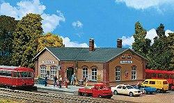 ЖП спирка - Sonnefeld wayside station - Сглобяем модел -