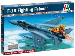 Военен самолет - F-16 Fighting Falcon - Сглобяем авиомодел -
