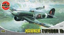 Изтребител - Hawker Typhoon 1b - Сглобяем авиомодел - макет